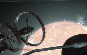 An orbis station called Isherwood Ring in the Eta Cephei system.
