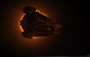 System Authority Viper with deployed Hardpoints