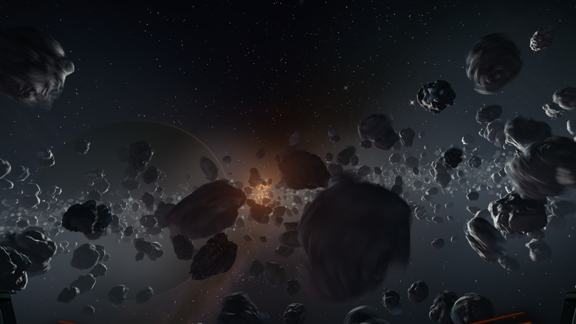 asteroid field hd -#main