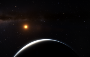 Earth like planet, quite close to its star but potentially inhabitable, if not already.