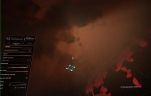 Insider view of the Flame nebula