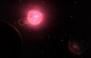 Shot of Hutton Orbital in orbit of Eden of Proxima Centauri.