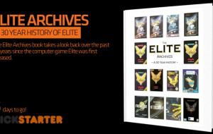 The Elite Archives book takes a look back over the past 30 years since the computer game Elite was first released. kickstarter campaign