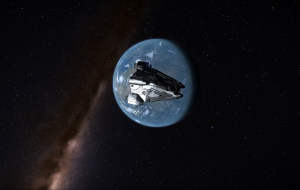 A chrome skinned Viper with Eranin 2 in the background.
