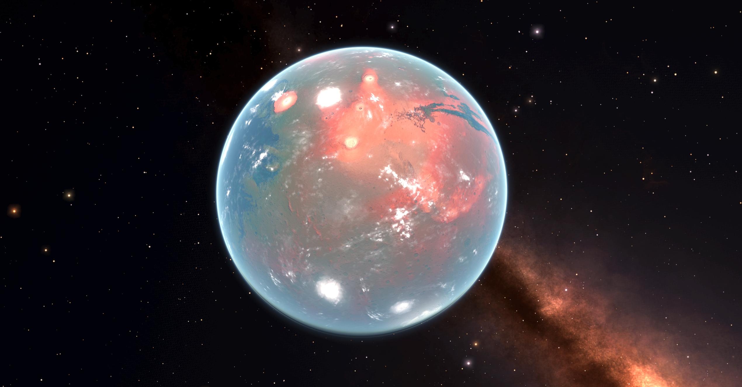 Ross 128 B >> Mars - Elite Galaxy