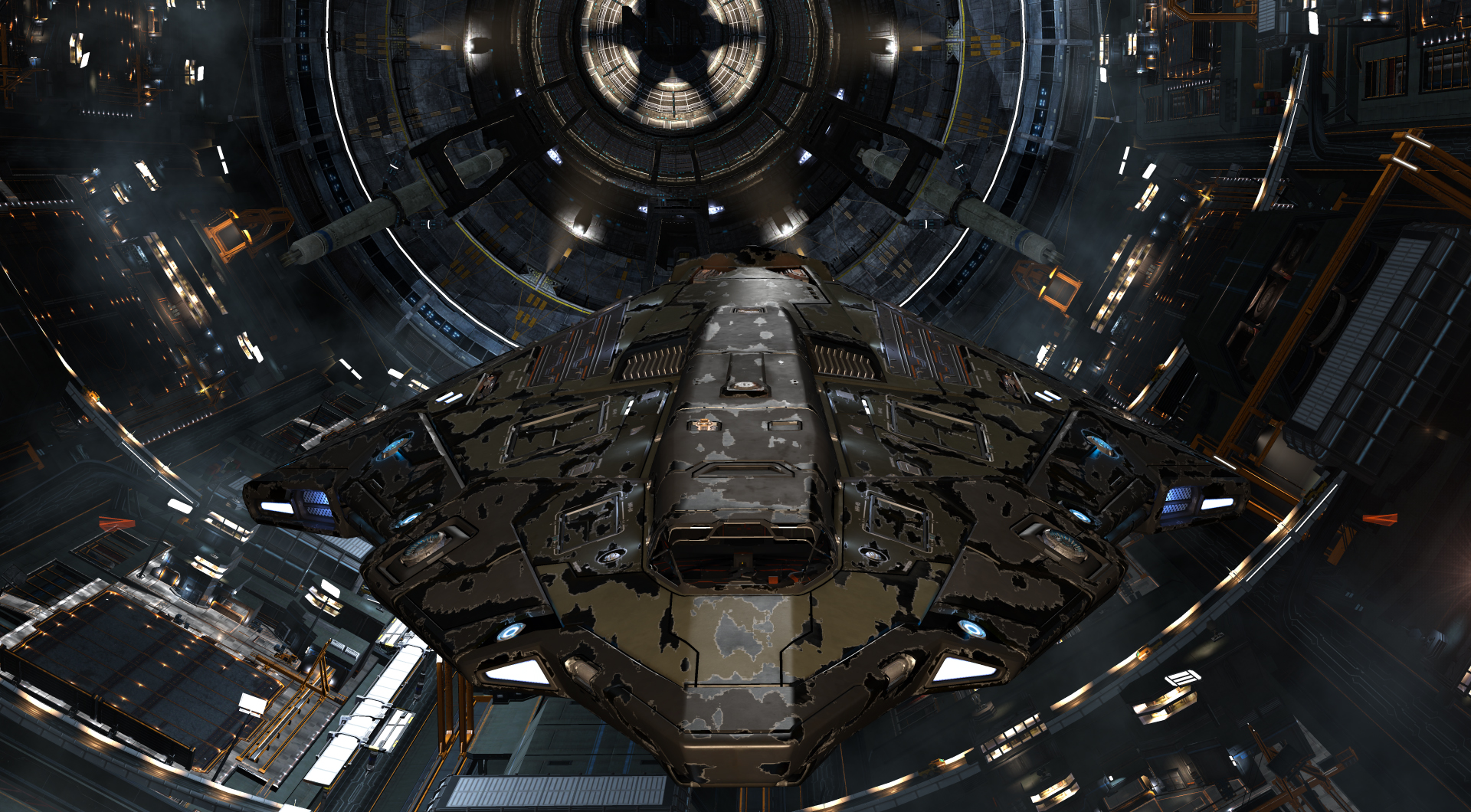 Whatever happened to old rusty ships? : EliteDangerous