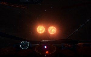 2 suns within orbiting 3 ls from eachother core