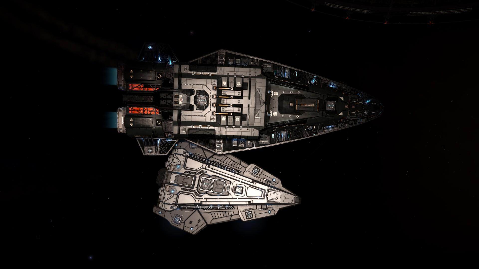 A Little Big Ship Elite Galaxy