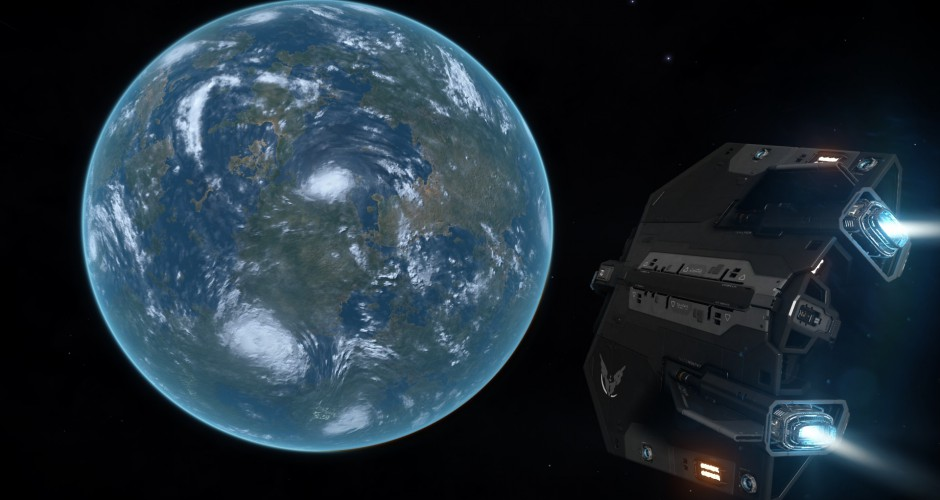 An Asp orbiting an Earth-like planet somewhere between Lembava and the Crab Nebular
