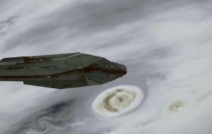 En la orbita del gigante gaseoso