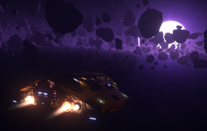 Actually, this is a casual view of deep space for enthusiastical explorer.