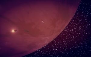 orbitando un gigante gaseoso
