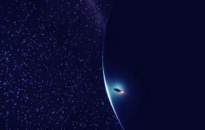 En orbita de un gigante gaseoso