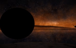 Sistema dominado por un agujero negro