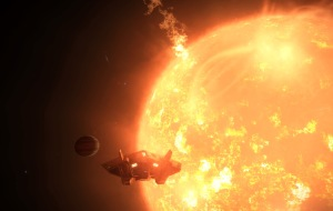 A Gas Giant Class V with a semi Major Axis of 0.00 AU