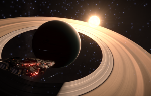 Out in deep space