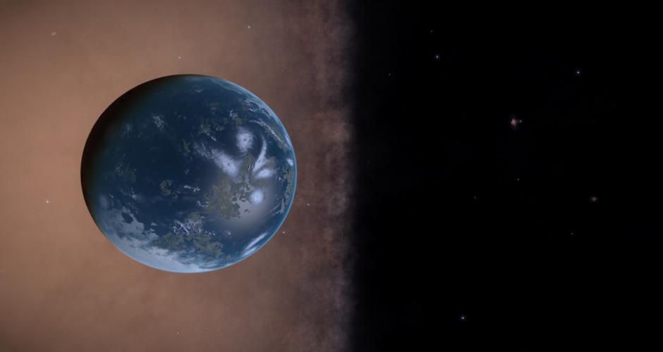 Earthlike planet, galaxy