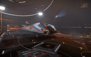Asp Explorer on deck