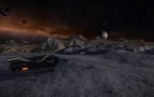 On my way from the Lagoon nebula to the Omega nebula. The Bleia Oryiae IT-O 07-126 3 A