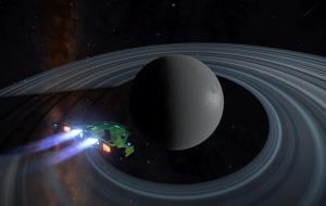Some frozen world near Betelgeuse