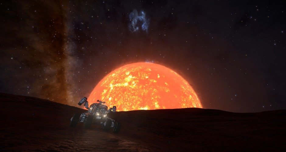 Early Morning on Betelgeuse II