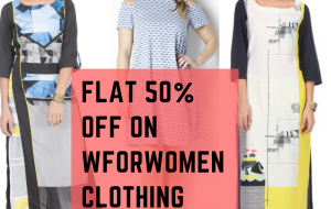 Get a flat 50% discount on women's clothing. No coupon code needed. Please note offer only on products displayed on the landing page