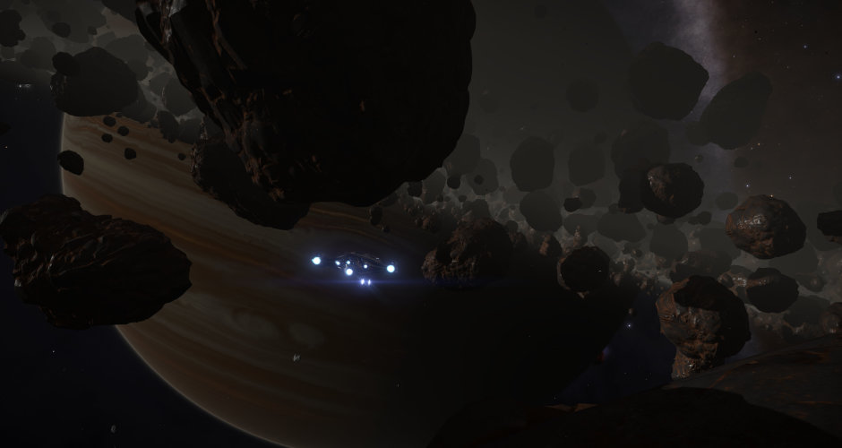 Taking the Cutter to California for some peaceful mining.