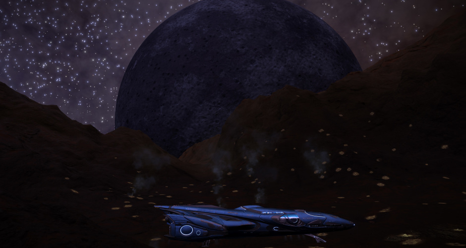 Silicate vapour geysers with a big, ominous visitor.